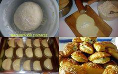 Ζύμη με γιαούρτι (τύπου «κουρού») ιδανική επιλογή για πεντανόστιμα τυροπιτάκια…
