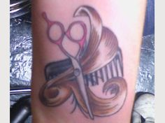 I will one day be getting a tattoo of my career :) #hairdresser #love #stylist