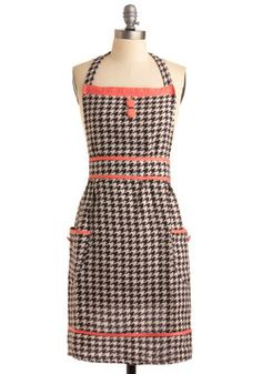 To the Houndstooth Apron, #ModCloth