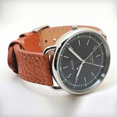 GMT Vintage Military Style Watch by Helgray