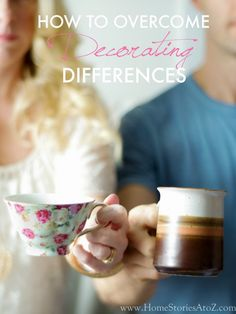 Couples differ in their decorating styles. Learn how to overcome decorating differences with practical advice, tips, and activities to get you started towards DIY decorating.