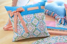 Create lovely pillows and accessories with our trendy mix-and-match fabrics.