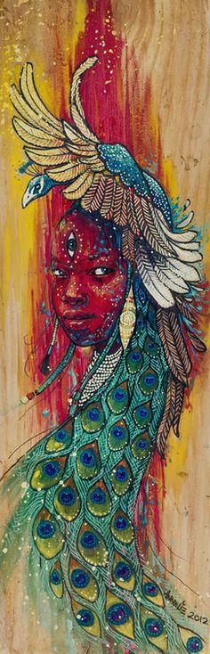solcreative:  Tausi Girl by Annelie Solis