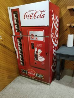Fridge Vinyl Sticker *Coca Cola* and *Pepsi* / Self-Adhesive Vinyl Refrigerator Decal / Side-by-side Fridge Wrap / Refrigerator Wrap Coca Cola Decor, Coca Cola Drink, Pepsi, Soda Machines, Vending Machines, Self Adhesive Wallpaper, Adhesive Vinyl, Refrigerator Wraps, Coke Machine