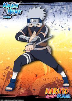 A Jounin master, he is the leader of Team 7 (Uzumaki Naruto, Uchiha Sasuke,  Haruno Sakura). Although he appears aloof and disinterested, Kakashi is a  hi.