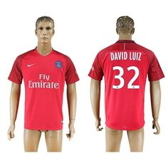 PSG 16-17 David Luiz 32 Udebane Trøje Kortærmet.  http://www.fodboldsports.com/psg-16-17-david-luiz-32-udebane-troje-kortermet.  #fodboldtrøjer