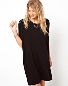 Bild 1 von ASOS – T-Shirt-Kleid