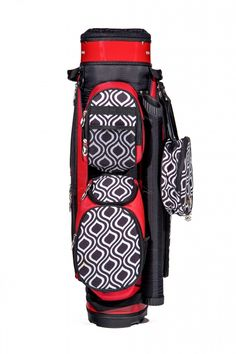 Jazzy Sassy Caddy Ladies Golf Cart Bag available at #lorisgolfshoppe