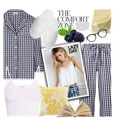 """""""Sleep In: Lazy Day"""" by sans-moderation ❤ liked on Polyvore featuring Sleepy Jones, BasicGrey, Forever 21, Tommy Bahama, Tom Ford, LazyDay, polyvoreeditorial and polyvorecontest"""