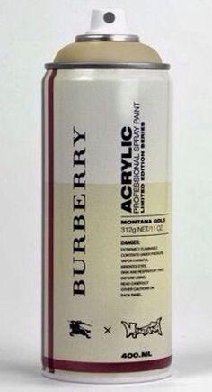 Spray Can Project: Burberry by Antonio Brasko