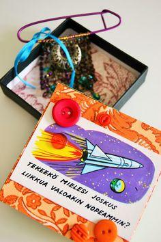 MiruMaru: DIY- lahjarasia ja voita lippuja Kädentaitomessuil... #DIY