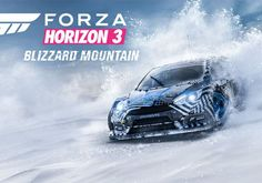 Forza Horizon 3's upcoming Blizzard Mountain expansion brings snow and ice to the driving game