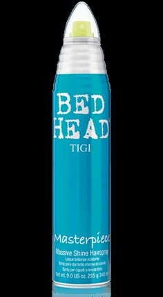 Bed Head by TIGI | Products | Styling | Hairsprays | Masterpiece Hairspray. Massive shine/humidity resistant.
