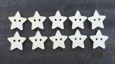 200 x 20mm A2 MDF Stars Laser Cut Embellishments Wooden Craft Shapes Wholesale