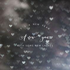 It's a new year, get you some lashes ladies  IG: @bisou_lash FB: Bisou Lash Studio Www.bisoulash.com