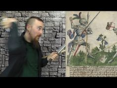 ▶ A bizarre tactic in a Medieval fighting manual (Gladiatoria MS KK5013) - YouTube (This is a pretty baffling bit of medieval weirdness xD)