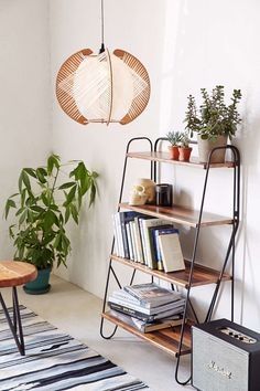Assembly Home Airy Wood Pendant - Urban Outfitters