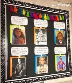 Bulletin Board Ideas for the Elementary Classroom – Tales From a Very Busy Tea. Bulletin Board Ideas for the Elementary Classroom – Tales . 5th Grade Classroom, Middle School Classroom, New Classroom, Classroom Design, Classroom Displays, Classroom Decor, Classroom Charter, Classroom Display Boards, Classroom Arrangement