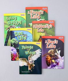 Take a look at this Intermediate Reader Paperback Set by Teacher Created Materials Library on #zulily today!