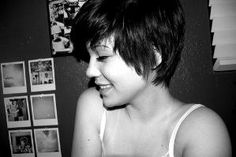 short choppy pixie by latasha