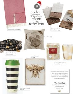 #Christmas gift guide from @thenestegg! #holiday #gifts #presents #giftguide
