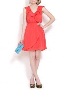 @BCBGeneration  Ruffle Dress