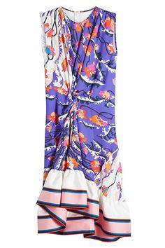 EMILIO PUCCI Printed Silk Dress. #emiliopucci #cloth #