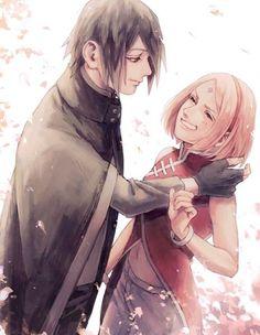 Sasuke Uchiha and Sakura Haruno | Naruto Shippuden #sasusaku #sakusasu #shippuuden