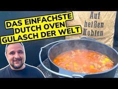 Ein DOPF voll Glück : BAUERNGULASCH aus dem DUTCH OVEN --- Klaus grillt - YouTube Dutch Oven, Bbq, Youtube, Goulash, Essen, Iron Pan, Barbecue, Barrel Smoker, Dutch Ovens