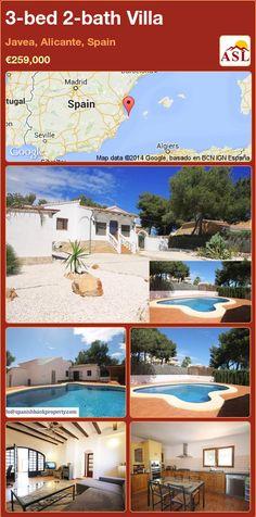 3-bed 2-bath Villa in Javea, Alicante, Spain ►€259,000 #PropertyForSaleInSpain