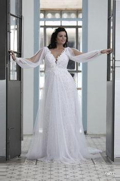 שמלת כלה בגזרת A זו תמיד אופציה מחמיאה