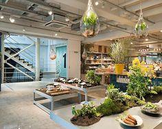 Grocery Store Lighting Fixtures Design Ideas In Natural Interior