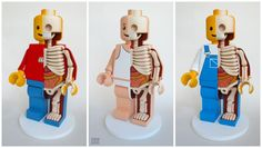 Jason Freeny (@atotalpirate) LEGO trio
