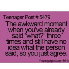 Yup…my mom hates it!