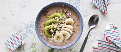 Tuorepuuro on helppo ja ravitseva aamupala tai välipala. Tuorepuuron makua helppo vaihdella erilaisilla hedelmillä ja marjoilla. N. 0,70€/annos.