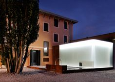 The Euroom exhibition space by Italian office Corde Architetti.