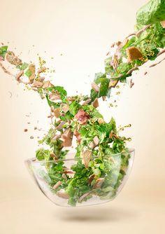 Maxima salad on Behance
