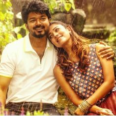 Bigil, an upcoming film starring Thalapathy Vijay and Nayanthara, has landed in trouble because of its first look poster, which features protagonist V Love Hd Images, Love Couple Images, Couples Images, Vijay Actor, South Indian Film, Actors Images, Upcoming Films, Actor Photo, Indian Film Actress