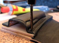 Leather Some tips and thoughts on folder sheaths