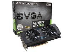 EVGA GeForce GTX 970 Super Clocked ACX 2.0 4GB GDDR5 Graphics Card - http://21stpc.com/graphics-cards/evga-geforce-gtx-970-super-clocked-acx-2-0-4gb-gddr5-graphics-card/