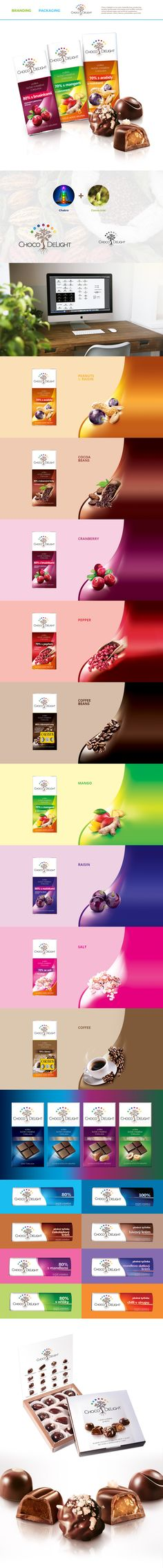 Choco Delight - packaging design on Behance