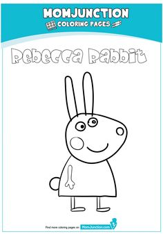peppa pig house Coloring Page Peppa Pig Coloring Pages, Beach Coloring Pages, Cartoon Coloring Pages, Dinosaur Coloring, Peppa Pig Drawing, Rebecca Rabbit, Pig Party, Children, Pig Birthday