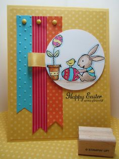 Goin' Over The Edge: Everybunny loves Easter for Monkey Challenge #102