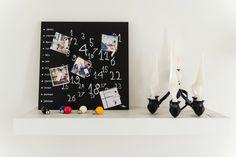 Fattore Forma Design:lavagna DesignObject e candelabro Muuto