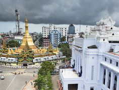 World Monuments Fund Colonial Architecture, Religious Architecture, City Landscape, Urban Landscape, Urban Icon, Bay Of Bengal, Yangon, Modern City, Mandalay