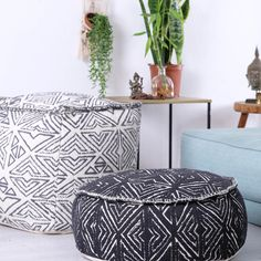 Add a bohemian vibe or an eclectic edge to your living areas! These floor pillows are perfect in bedrooms, living rooms, or children's play areas, providing a creative, useful, and luxurious accent to any space Kids Play Area, Play Areas, Pouf Ottoman, Boho Chic, Bohemian, Accent Pillows, Floor Pillows, Living Area, Living Rooms