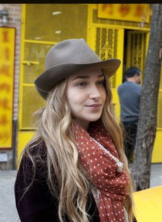 I love her: Jessa from Girls. I love her style, it's pretty cool.