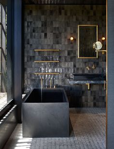 Bathroom Inspiration White Bathrooms Bathroom Design Ideas Bathrooms Bath Decor White Paint Bathroom Layout Bathroom Fixtures Bathroom Tub Styles Free Standing T. Bathroom Layout, Bathroom Interior Design, Modern Interior Design, Modern Bathroom, Paint Bathroom, White Bathrooms, Bathroom Black, Bathroom Ideas, Remodel Bathroom