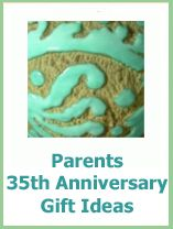 35th Anniversary Gift Ideas For Parents