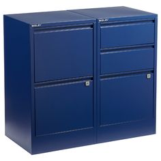 Oxford Blue Bisley® File Cabinets | $199.00 #FathersDay